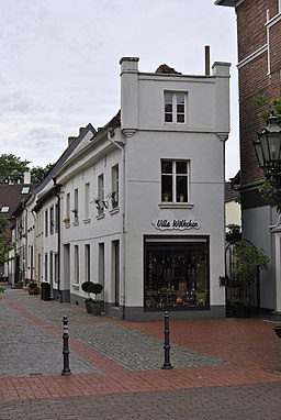 Fieselstraße in Moers