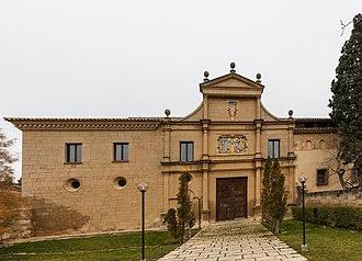 Rueda Abbey - Main entry.