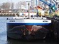 Monika (ship, 1992) ENI 04503590 Welplaathaven Port of Rotterdam pic2.JPG