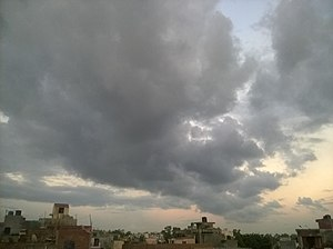 Najafgarh - Monsoon Clouds near Najafgarh, Delhi