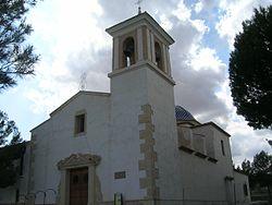 Montealegre del Castillo, Albacete, Spain Iglesia de Nuestra Señora de la Consolación.jpg