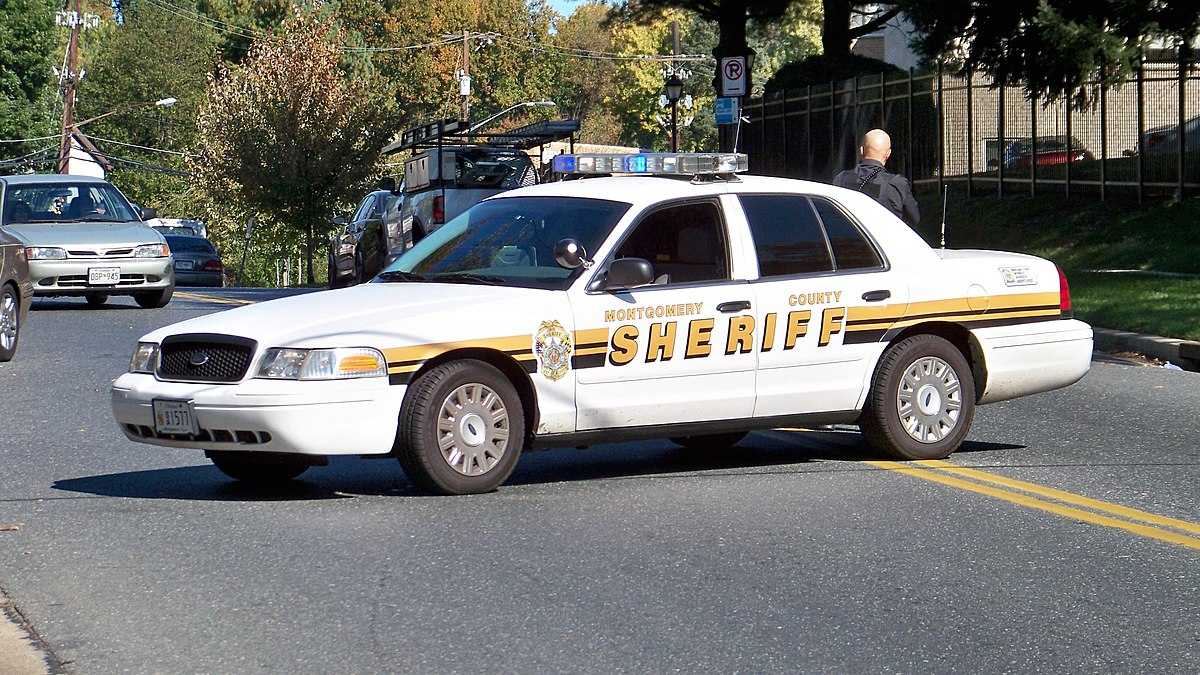 Montgomery County Sheriff S Office Maryland Wikipedia