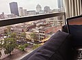 Montreal Skyline from hotel (23469900871).jpg