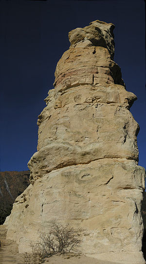 Monument, Colorado - Monument Rock, the formation from which the town derives its name