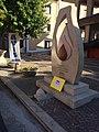 Monumento del donatore AVIS - Piazzetta del donatore - Goccia Avis.jpg