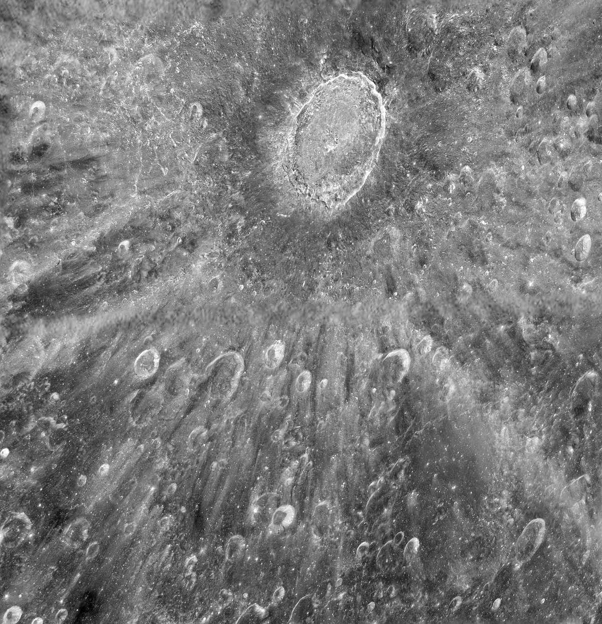 List of craters on the...
