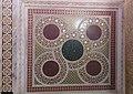 Mosaïque de marbre en Opus sectile en partie basse des murs, Chapelle Palatine, Palermo, Sicilia.jpg