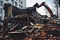 Moscow, demolition of trade pavilions on Vozdvizhenka Street (24398143423).jpg