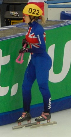 Moscow 2015 1000m Ladies After Heat 3 (4) Elise Christie (cropped).JPG