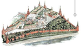 Moscow Kremlin map - The Cathedral of the Intercession (of St. Basil the Blessed).png