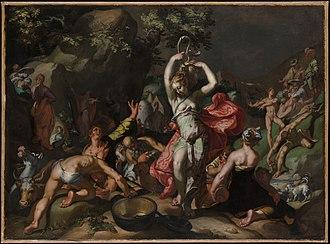Abraham Bloemaert - Image: Moses Striking the Rock MET DP145411
