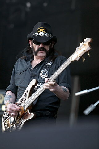 Lemmy of biker metal band Motörhead.