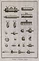 Moulds used in pewter manufacture. Etching by Bénard after L Wellcome V0023623EL.jpg