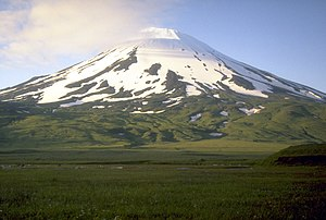 Umnak - Highest point. Mount Vsevidof