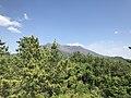 Mount Sakurajima from Tsukiyomi Shrine 2.jpg