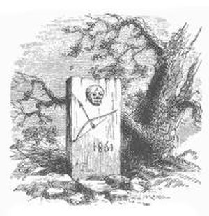 Mowry massacres - A grave along the trail to Mowry, a victim of an Apache ambush.