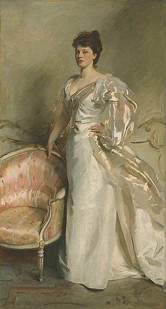 """George Swinton -  Mrs. George Swinton (née Elizabeth """"'Elsie"""" Ebsworth), John Singer Sargent, 1897"""