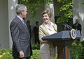 Mrs Laura Bush-George W Bush-2005-05-02.jpg