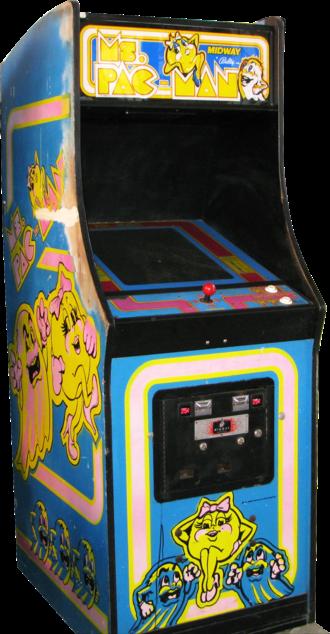 Ms. Pac-Man - Image: Mspacmancabinet