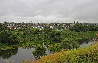 Zusha River - Zusha River in Mtsensk