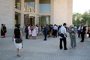 Mudam - Mudam entrance