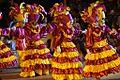 """Mujeres danzando el tradicional baile huasteco del """"Xantolo""""..JPG"""