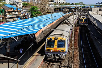Mumbai Suburban Railway - MRVC Siemens Rakes replaced the ageing fleet of suburban trains