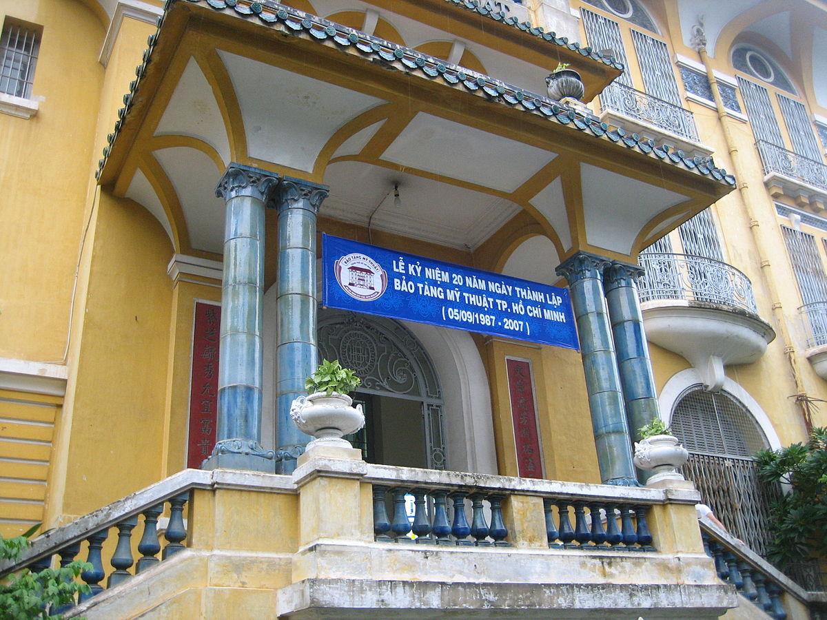 Ho Chi Minh City Museum Of Fine Arts Wikipedia