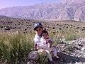 My children, 2008-05-23 دشت لار- گلهای زندگی در میان گلهای طبیعت - panoramio.jpg