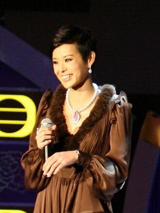 TVB Anniversary Award for Most Improved Female Artiste - Myolie Wu won in 2002 for her performance in Golden Faith.