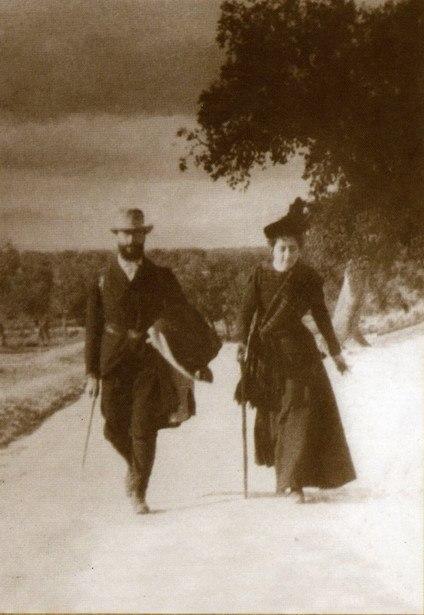 Mz Pidal y María Goyri