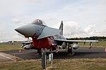 "Nörvenich Air Base Eurofighter Typhoon Luftwaffe 31+31 ""Spirit of Oswald Boelcke"" (44368867602).jpg"