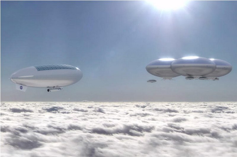 NASA Cloud City on Venus