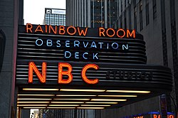 NBC Studios Rockefeller Center