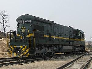 GE C36-7 - China Railways class ND5
