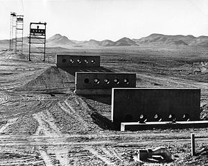 Collimator - Collimators used to record gamma rays and neutrons from a nuclear test.