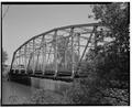 NORTHWEST SIDE, LOOKING SOUTHWEST - Meadow Hill Drive Bridge, Spanning Wilson Creek, Menomonie, Dunn County, WI HAER WIS,17-MENO,1-2.tif