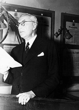 International Institute of Social History - Posthumus, director (1937-1952) and founding father of the IISH