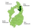 Nagahama in Shiga Prefecture.png