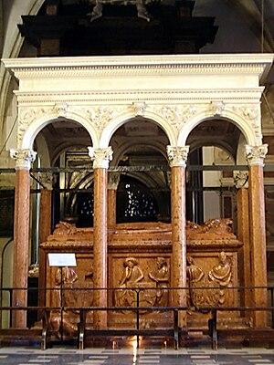 Bartolommeo Berrecci - Baldachin for the tomb of Jagiełło