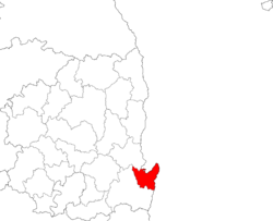 Location of Nam-gu