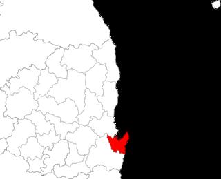 Nam-gu, Pohang Non-autonomous District in Yeongnam, South Korea