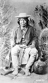warrior and chief of the Chihenne band of the Chiricahua Apache
