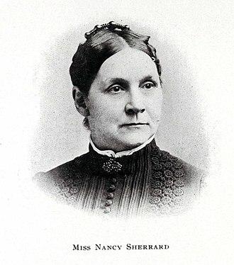 Washington Female Seminary - Image: Nancy Sherrard