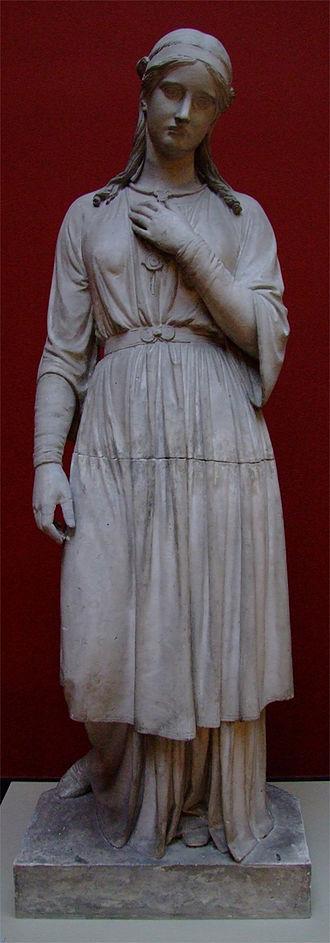 Nanna (Norse deity) - Nanna (1857) by Herman Wilhelm Bissen.