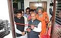 Narendra Singh Tomar inaugurating the Mineral Museum at IBM, in Bhubaneswar. The Minister of State for Petroleum and Natural Gas (Independent Charge), Shri Dharmendra Pradhan and the MP, Bhubaneswar.jpg