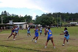 Netball in Fiji