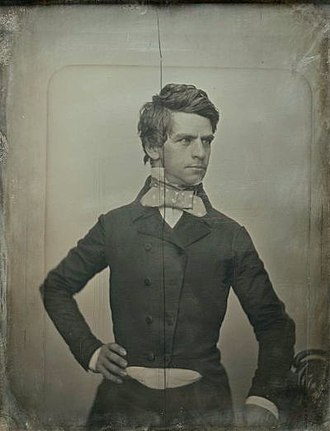 Nathaniel P. Banks - Banks in 1852, portrait by Southworth and Hawes