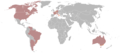 Neapolitan language world with neapolitan song.png