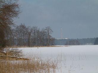 Rheinsberg Lake Region - The Nehmitzsee in winter